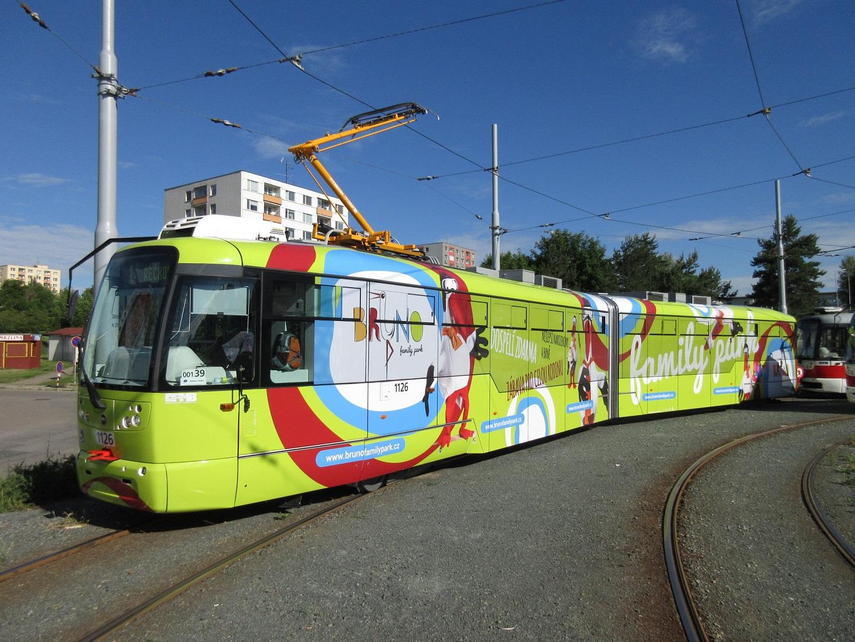 Polep tramvaje Bruno