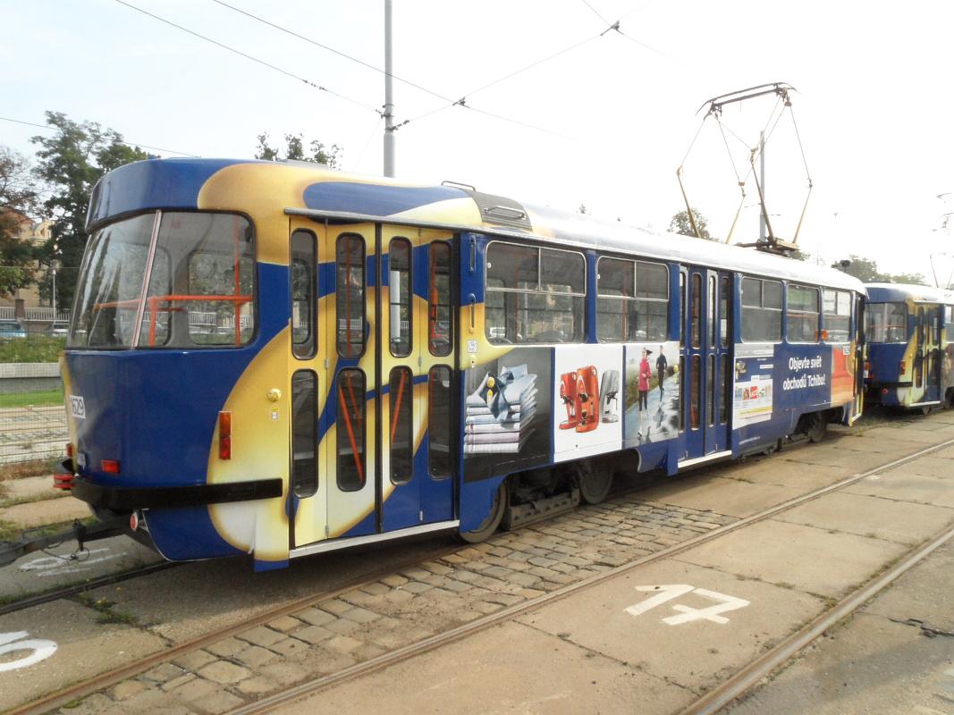 Polep tramvaje Tchibo