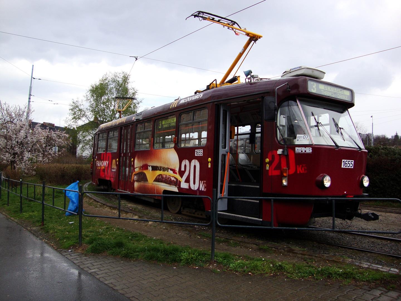 Polep tramvaje McDonald
