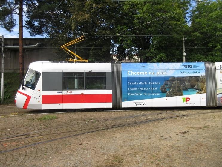 Polep tramvaje Fytap