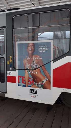 Fólie Cityboard na tramvaj (120 x 180 cm)