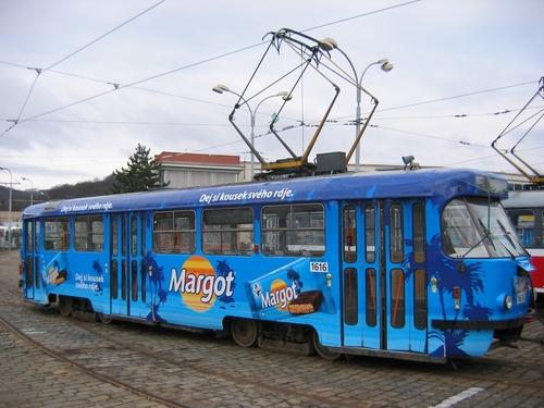 CELOPOLEP - tramvaj T3 (bez oken)