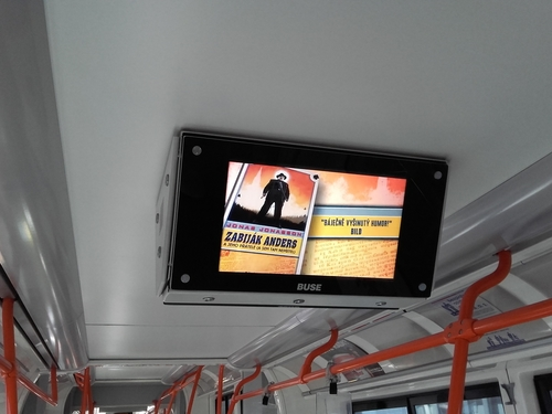 LCD MONITORY (spot 60 sekund)