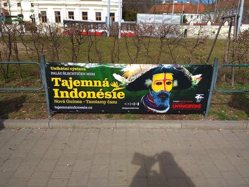 jednostranná reklama OSTATNÍ ZASTÁVKY (250 x 80 cm)