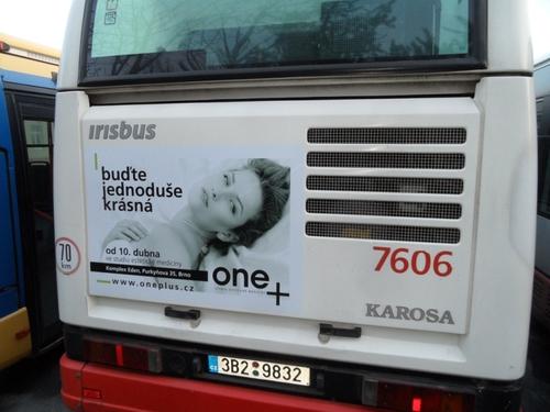 Fólie na zádi autobusu Citelis plyn (110x95 cm)