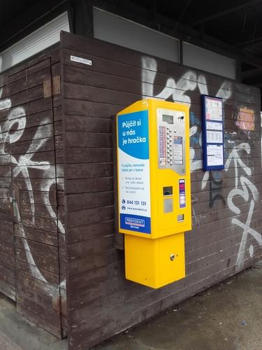 Fólie (28x75 cm) na jízdenkové automaty (oboustranně)
