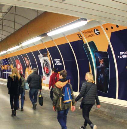 Přestupní tunel (Florenc B - C)