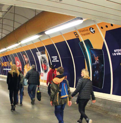 Přestupní tunel (Florenc C - B)