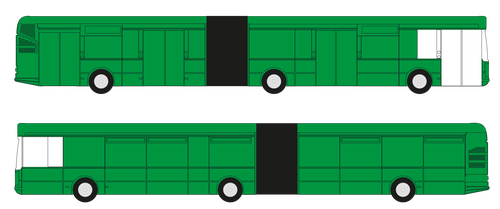 CELOPOLEP - Autobus Solaris Urbino 15 (včetně oken)