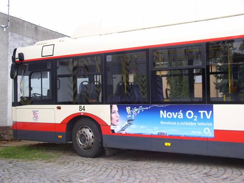Fólie KS (360x45 cm) - trolejbus