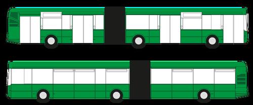 CELOPOLEP - Autobus Irisbus, Citelis (bez oken) - kloubový
