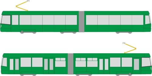 CELOPOLEP - tramvaj EVO2 (bez polepu oken)