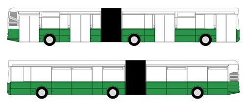 CELOPOLEP - Autobus (kloubový) (podokenní pás)