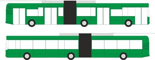 CELOPOLEP - Trolejbus TR 31 SOR (bez oken) - kloubový