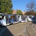 CELOPOLEP - Tramvaj KT8 (bez oken)