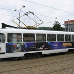Pásová reklama - Tramvaj T3
