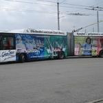 CELOPOLEP - Trolejbus Škoda 25 TR Irisbus (včetně oken)
