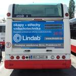 Fólie na zádi autobusu Citelis plyn (180x115 cm)