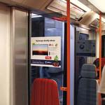Samolepící fólie (35x30 cm) - Trasa A, B, C (cena závislá na roční době)