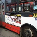 Fólie BS (100x45 cm)  - trolejbus