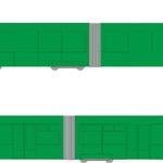 CELOPOLEP - tramvaj EVO2 (včetně polepu oken)
