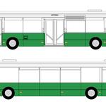 CELOPOLEP - Autobus (sólo) (podokenní pás)