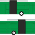 CELOPOLEP - Trolejbus TR 31 SOR (včetně oken) - kloubový