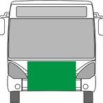 Fólie (samolepka) na nárazník přední části (rozměr podle typu)