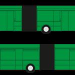 CELOPOLEP - Autobus Karosa (kloubový) (včetně oken)